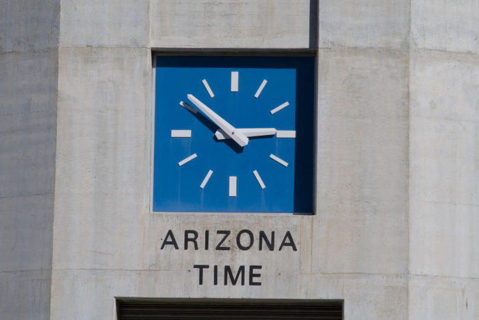 5. Quickly adjust to Arizona time.