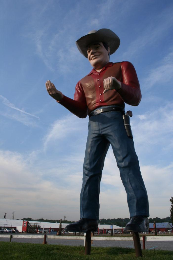 12. Giant Cowboy, Woodstown