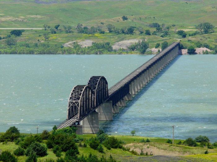 Missouri River in Pierre