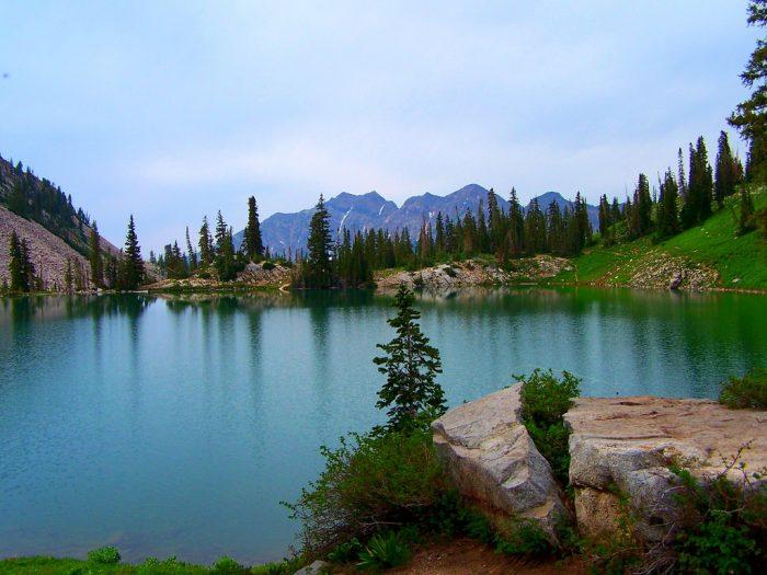 1. Red Pine Lake, Little Cottonwood Canyon