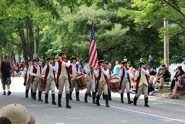 18. Catch the Gaspee Day Parade.