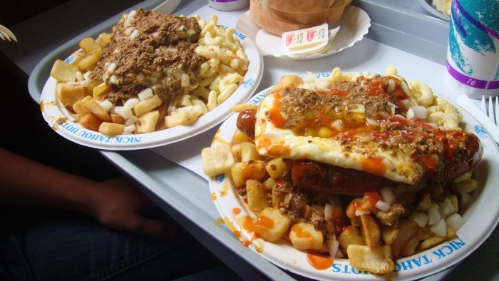 4. Get a taste of real New York cuisine and feast on one of our Garbage Plates.