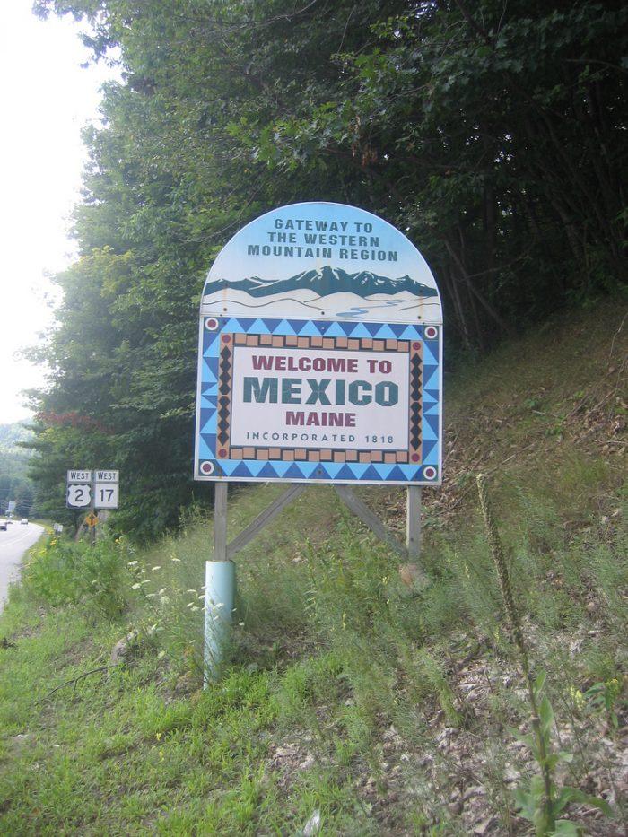 15. The Mexico Town Line, Mexico