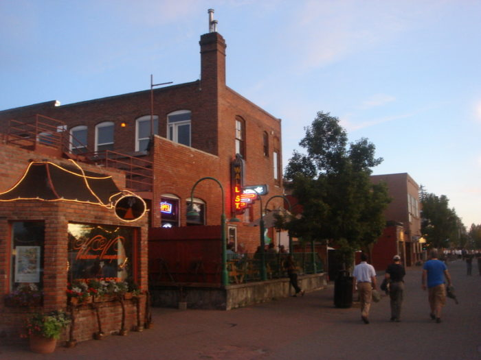4. The Old Mill District is the place to be.