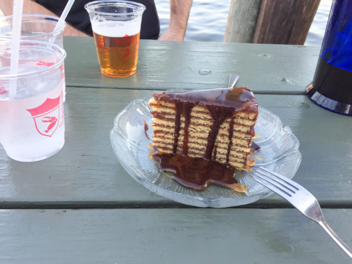 There is no shortage of iconic Maryland foods in St. Michaels.