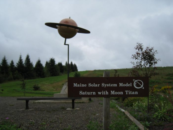 12. The Maine Solar System Model, Aroostook County