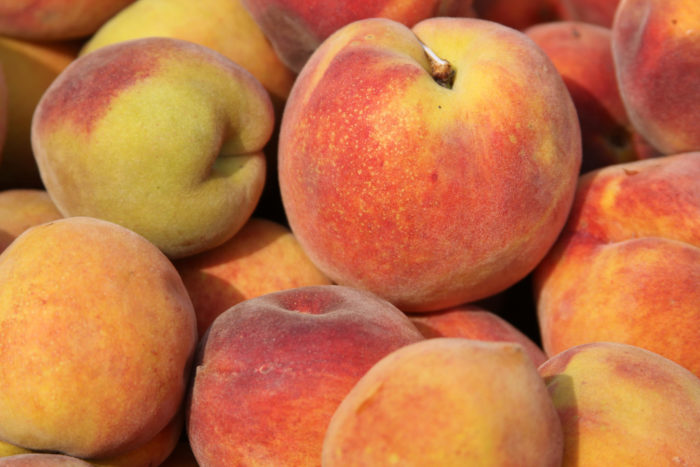 """4. """"I bet they sell peaches on every street corner and all-year round."""""""