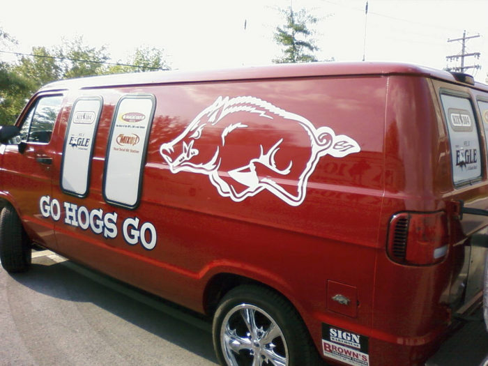 11. They disrespect our beloved Razorbacks.