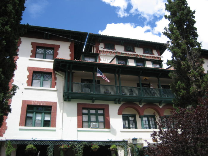 6. The Copper Queen Hotel (Bisbee, Arizona)