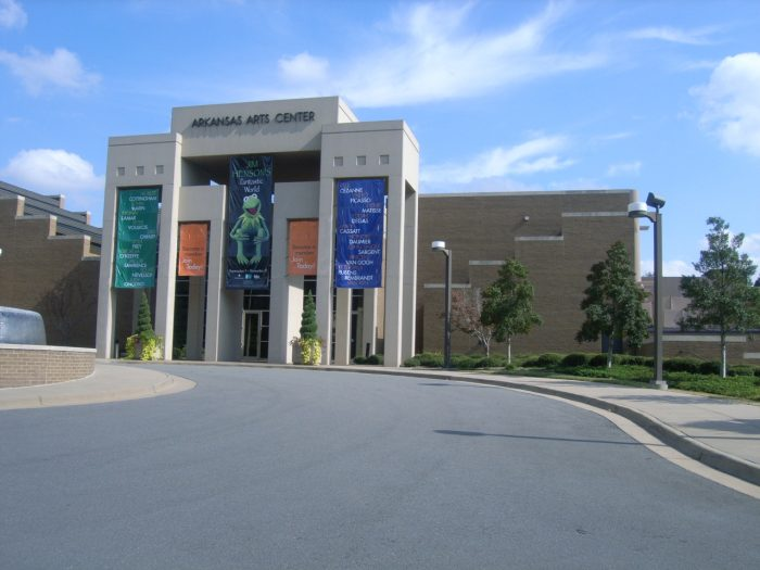 5. You can enjoy the arts at the Arkansas Arts Center in Little Rock.
