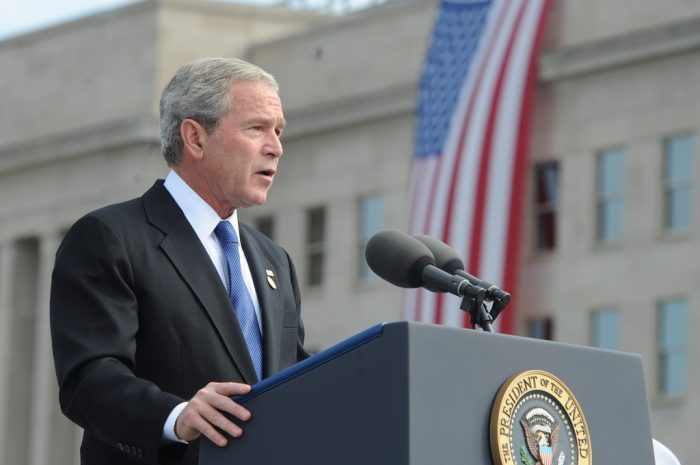6.  An arrest warrant for President George W. Bush and Vice President Dick Cheney.