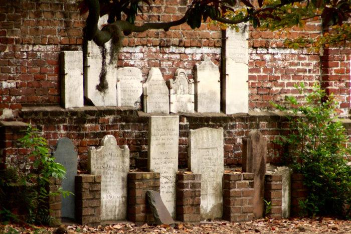 1. Colonial Park Cemetery, Savannah, Georgia