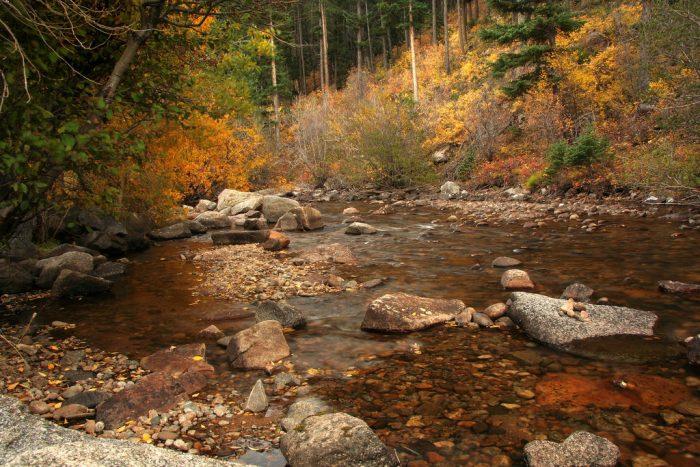 Soak up sweet solitude by seasonal streams.