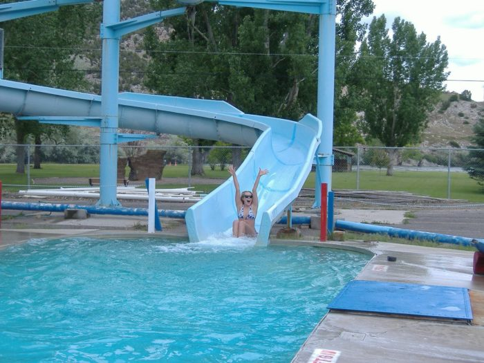 These 8 epic waterparks in wyoming will make your summer for Citywide aquatics division swimming pool slide