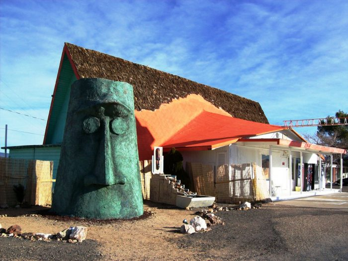 5. Giganticus Headicus in Walapai is another weird find along Route 66.