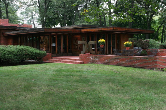 2. Melvyn Maxwell and Sara Stein Smith House (5045 Ponvalley Road, Bloomfield Hills)