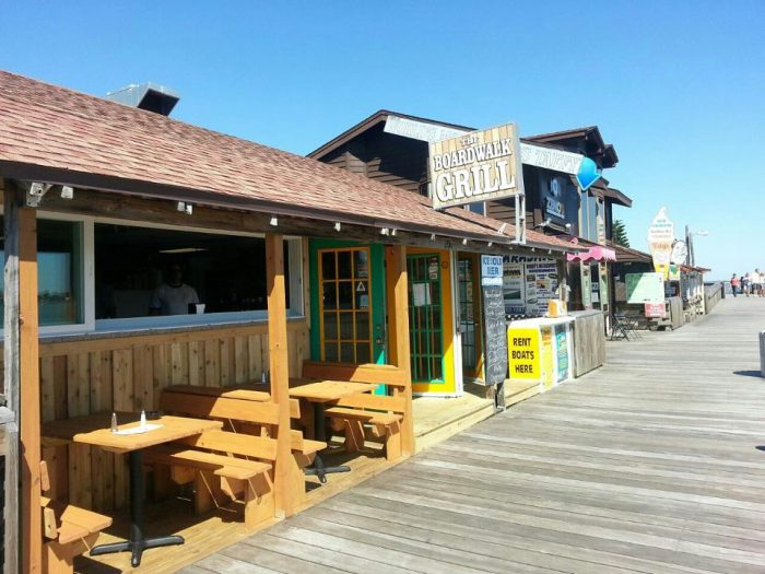 10. The Boardwalk Grill, Madeira Beach