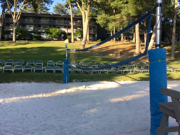 Join other vacationers for a leisurely game of volleyball or…