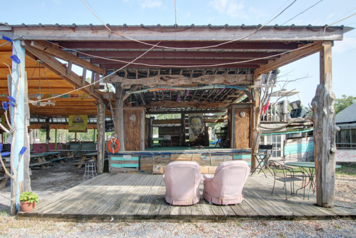 From brisket and ribs to chicken and sausage, The Shed has it all, including live music.