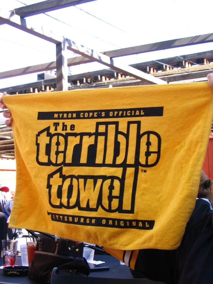 3. Waved a Terrible Towel.