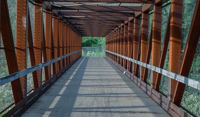 3. Hike the Great Allegheny Passage from Pittsburgh to Cumberland, MD.