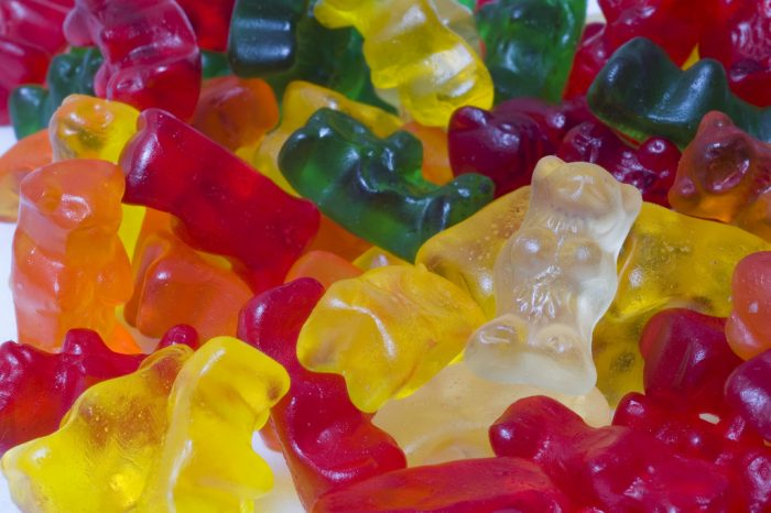 3. Gummy Bears are elevated to the next level with li hing mui.