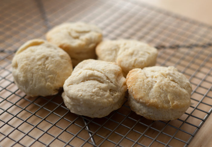 3. They've been given an heirloom biscuit recipe.