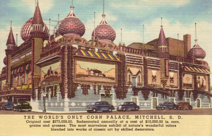 9. Postcard for the Corn Palace, 1951