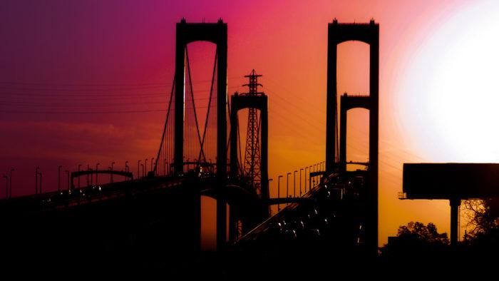8. The Delaware Memorial Bridge