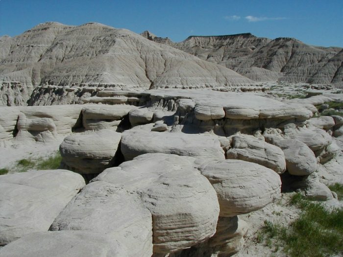 5. Walk on another planet at Toadstool Geologic Park.