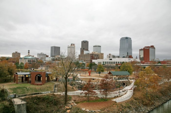 13.	Riverfront Park in Little Rock is just waiting to be explored.