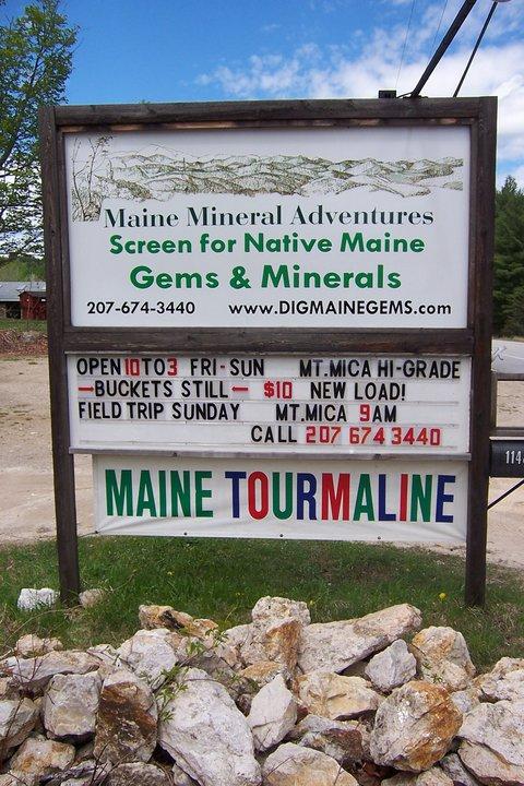 2. Western Maine Mineral Adventures, Bryant Pond