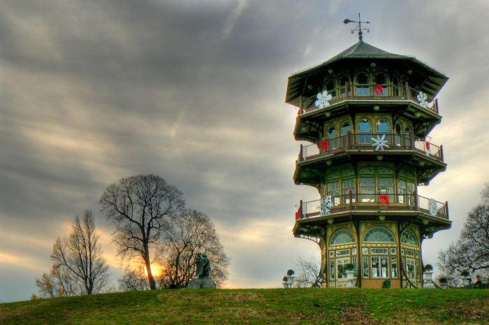 You would think this astounding pagoda would be found in another country, but it's right here in Baltimore, and is undoubtedly one of the most unique spots in Maryland.