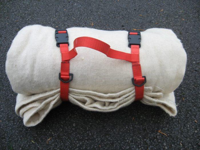 6. A Blanket or Sleeping Bag