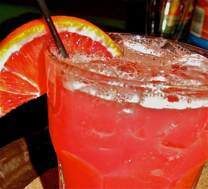 "Sip a ""Killer Margarita"" with your meal."