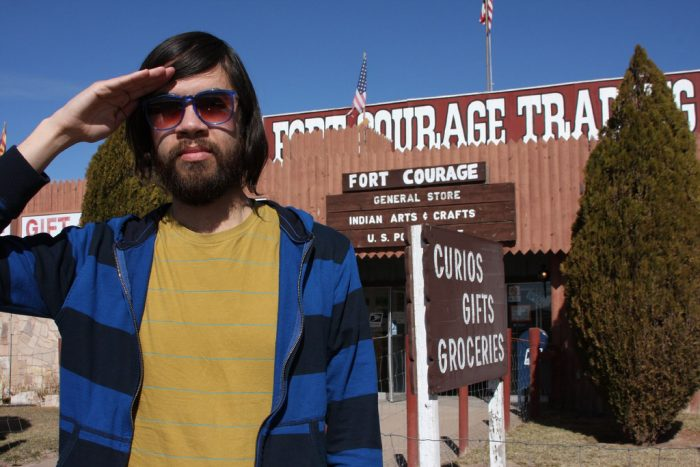 3. Located near Sanders along Route 66 is a replica of Fort Courage from the mid-1960s show F Troop.