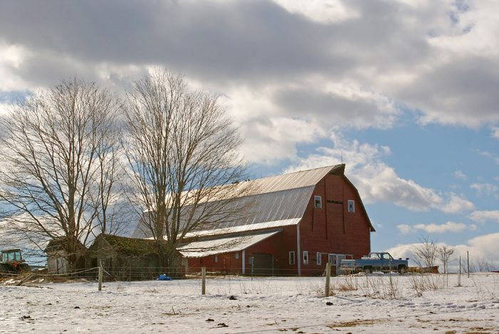 5. This barn scene from Hebron is exactly how you'd imagine farm life.