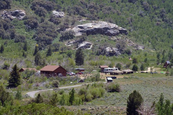 19. Camp in Lamoille Canyon – Elko