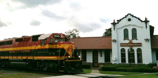 1) DeQuincy Railroad Museum, DeQuincy, LA