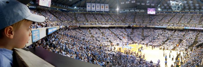 14. Witness the BEST rivalry in the nation and attend a UNC vs. Duke game.
