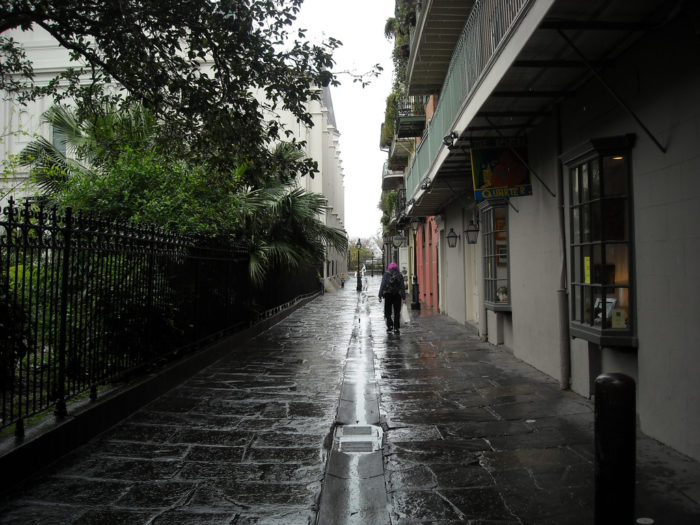 7) Pirate's Alley, Jackson Square