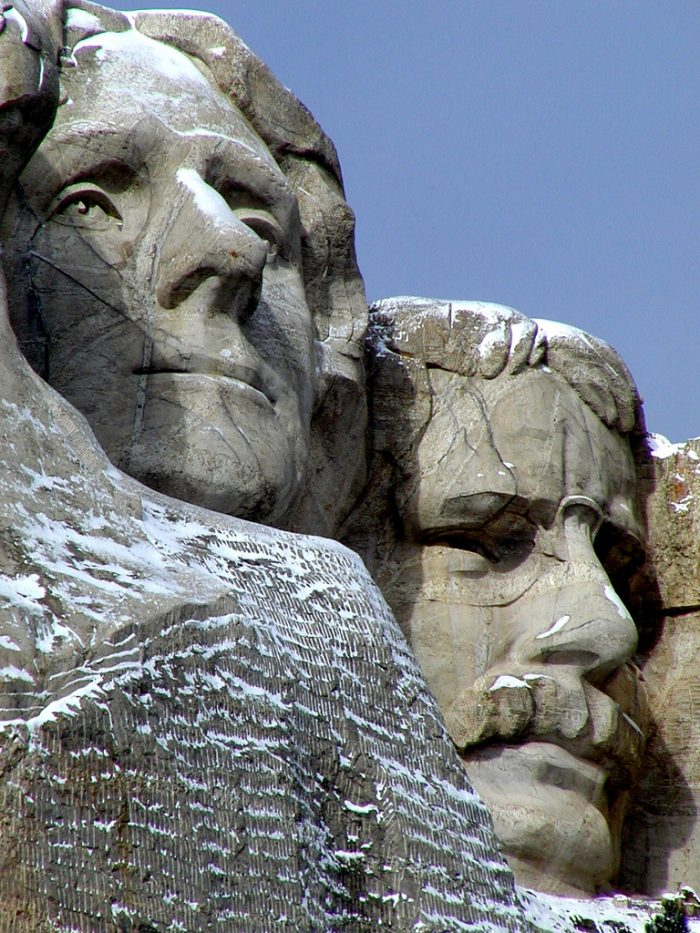 10. The granite that the faces are carved out of is so durable only an estimated one inch of the monument will erode over the next 10,000 years.