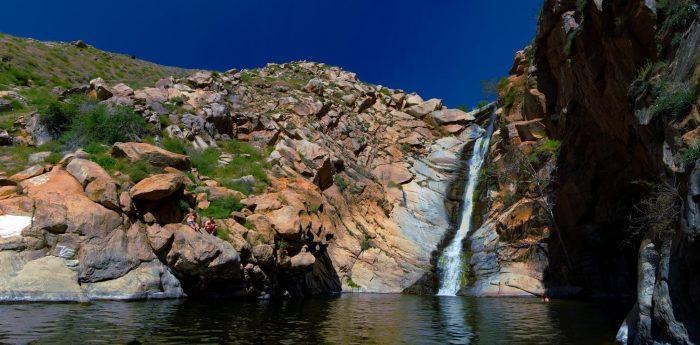 5. Cedar Creek Falls --  San Diego County