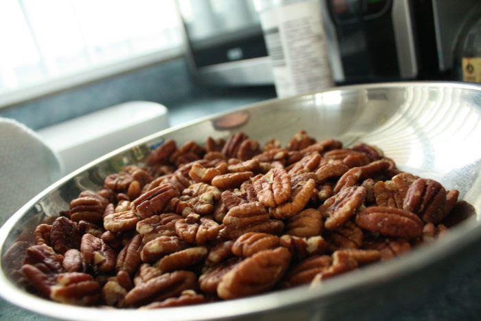 5. We sure do produce a lot of pecans. Which really translates to, we sure do produce a lot of scrumptious pecan pie.