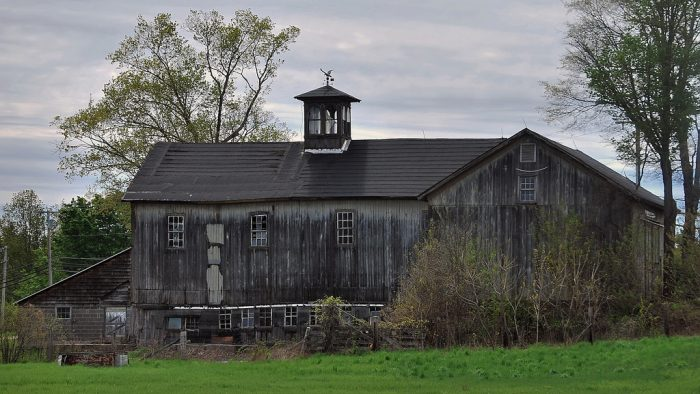 14. This barn in Avon is full of details, which means it's probably served multiple uses over the years.