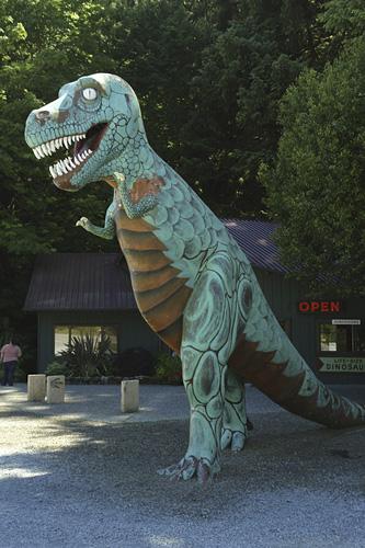 7. Prehistoric Gardens, Highway 101