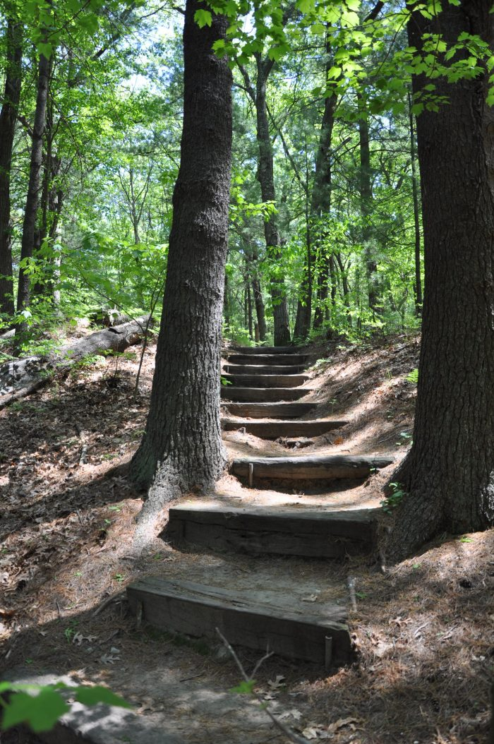 Two miles of beautiful paths will guide you through 45 acres of lush garden and glacier-sculpted ridges.
