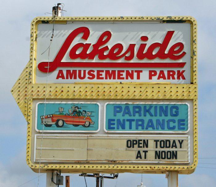 11. Lakeside Amusement Park