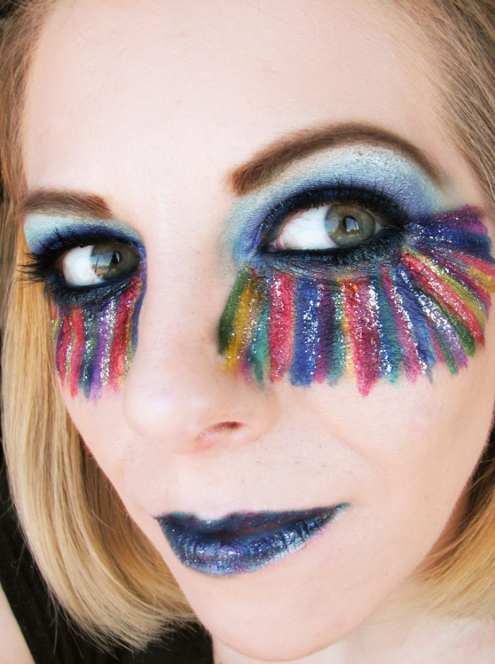 1) Once glitter is your go-to eye shadow, you can't go back.