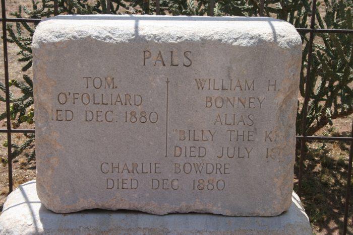 7. Billy the Kid's Grave, Fort Sumner